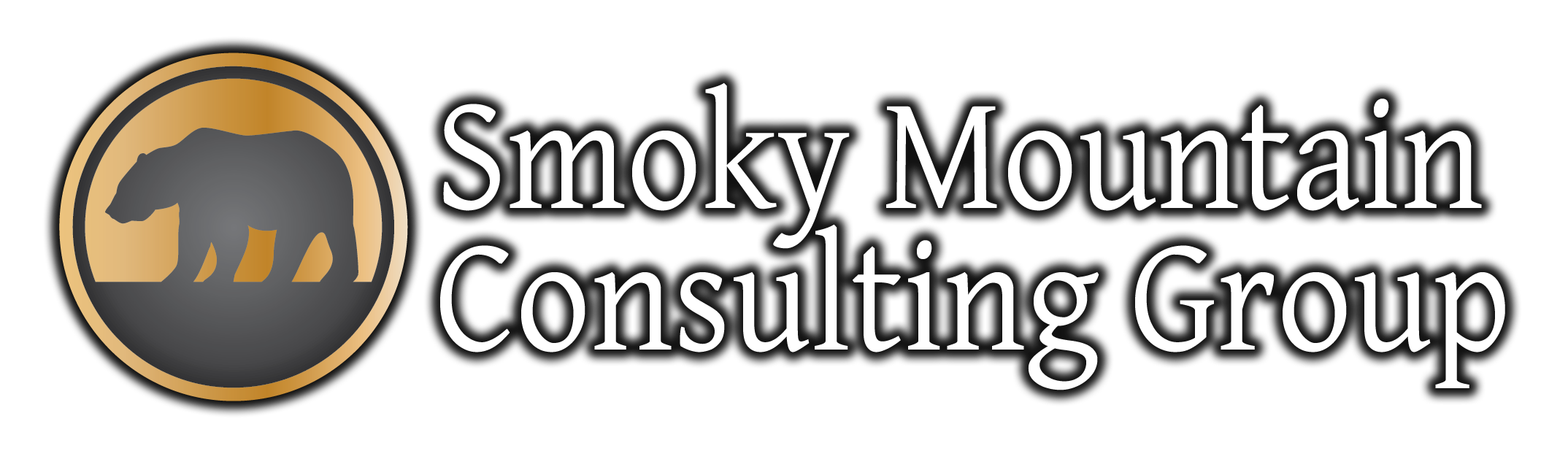 SMCG Logo - For Black or Dark Backgrounds - With Shadow