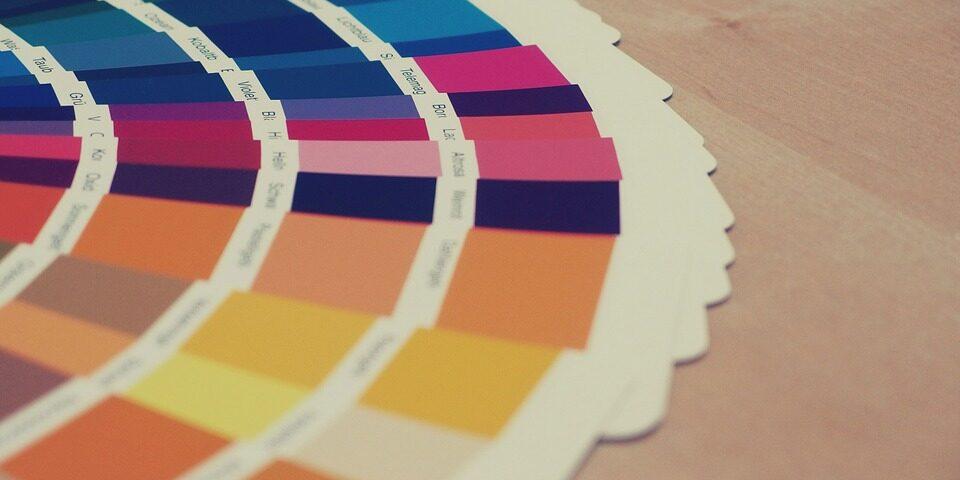 Colorful Pantone Chart